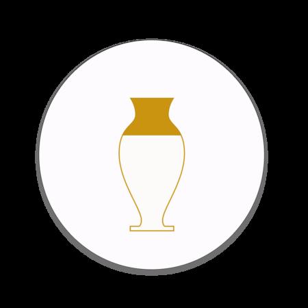 گلدان مسی